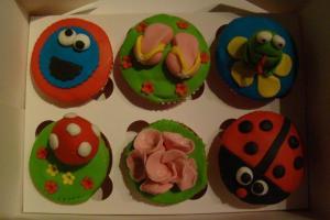 eerste cupcakes