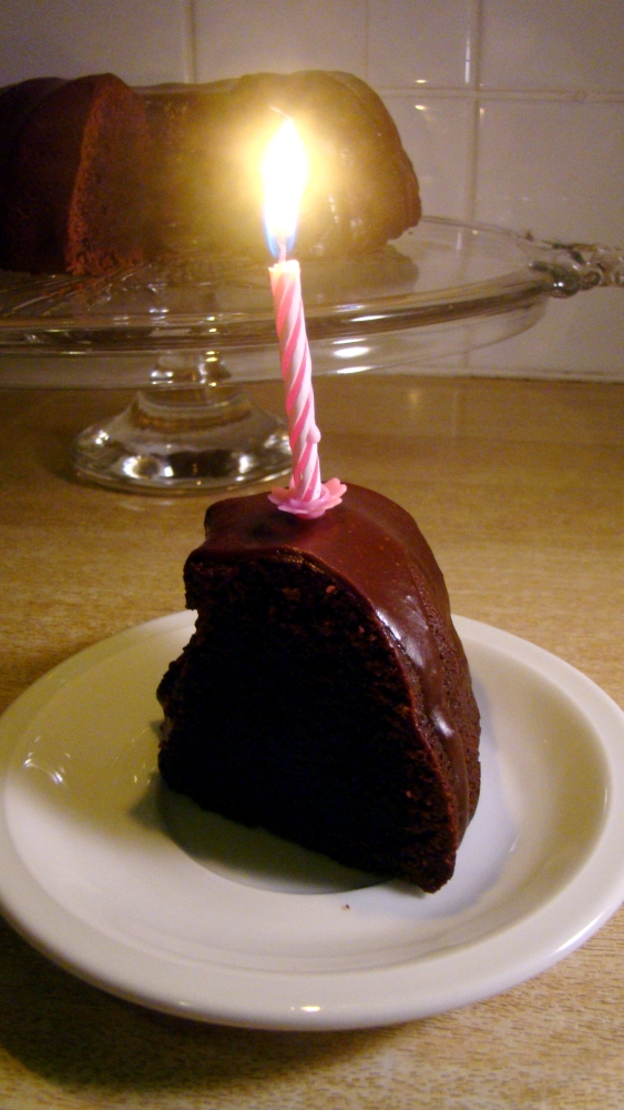 USC #1: Chocolate Espresso Bundt Cake (5/6)