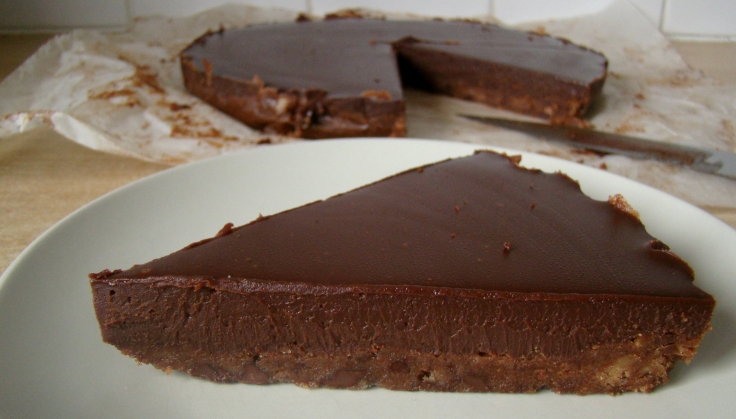 Chocolate Ganache Tart 01