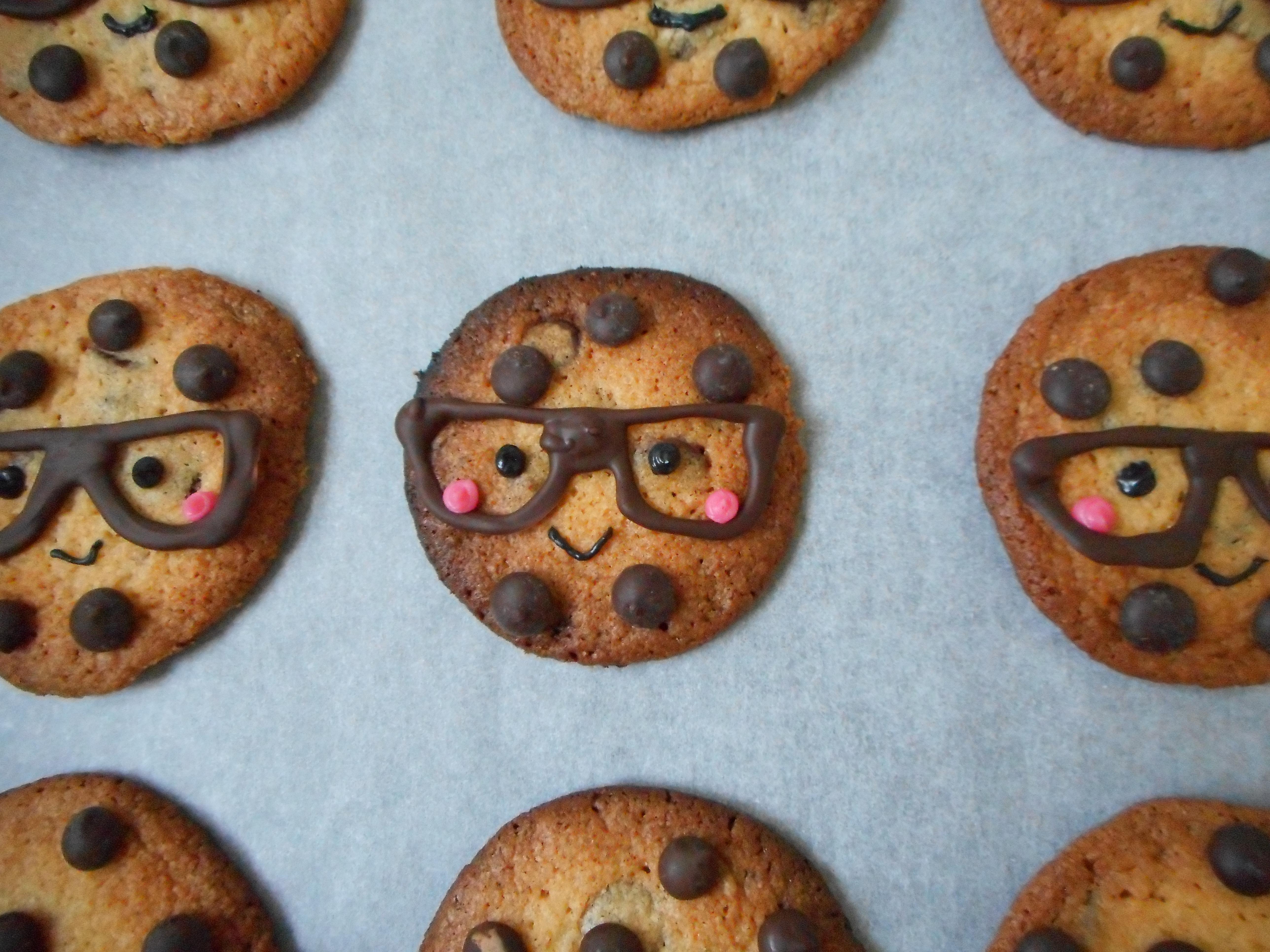 Nerdy Nummies Chocolate Chip Smart Cookies | Sarah's Little Kitchen