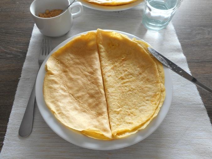 Lactose-free, sugarfree Pancake