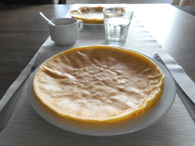Lactose-free & sugar free Pancake