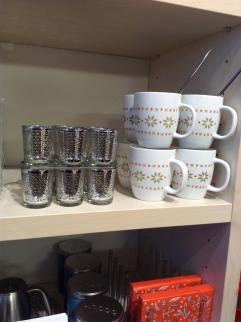 Christmas mugs by Bodum