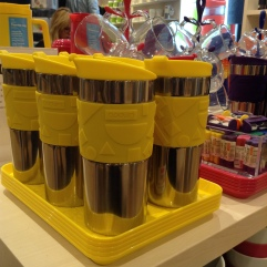 On the go mugs by Bodum