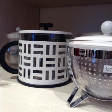 Tea pots by Bodum