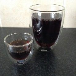 Brother and sister glasses by Bodum