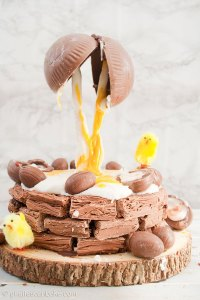 Creme-Egg-Anti-Gravity-Easter-Brownie-Nest-8