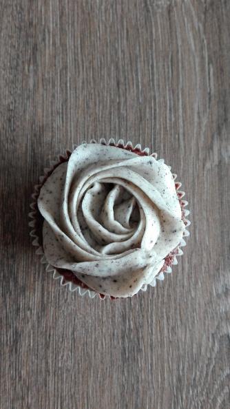 Oreo Rose Cupcake