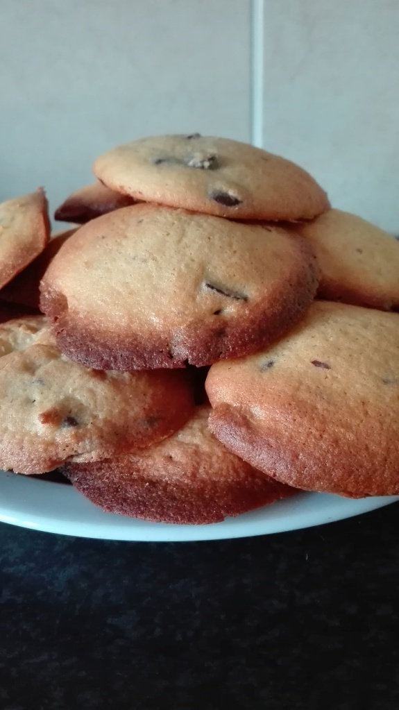 Pile of cake mix cookies
