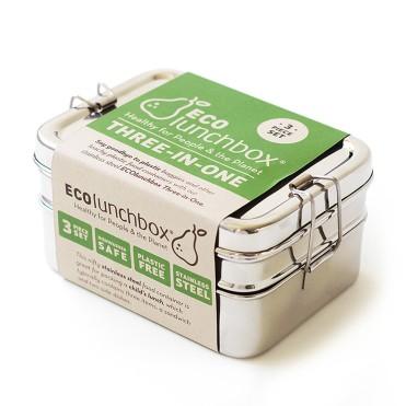 Three-in-one ecolunchbox