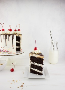 Fudge Sundae Cake
