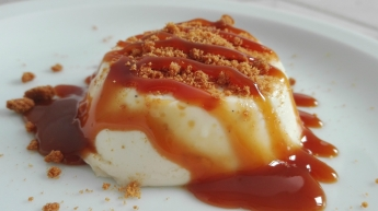 Banana Cotta Speculoos Caramel Recipe