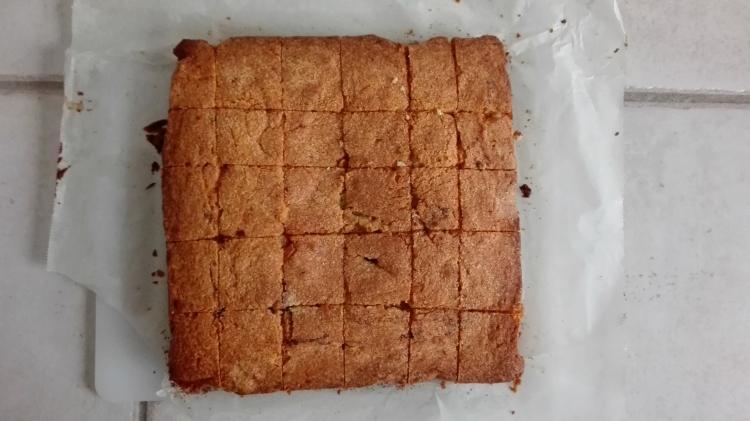 Brownie Vanilla Cake Recipe