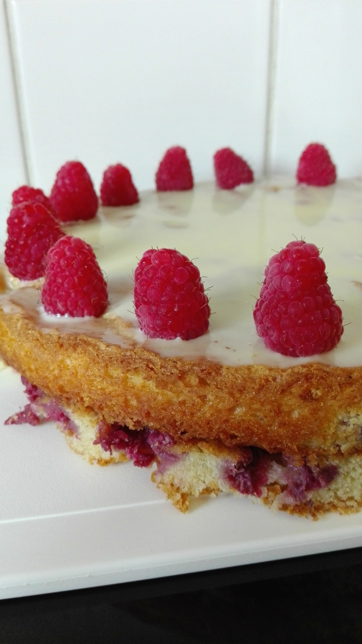 Raspberry White Chocolate Cake Recipe