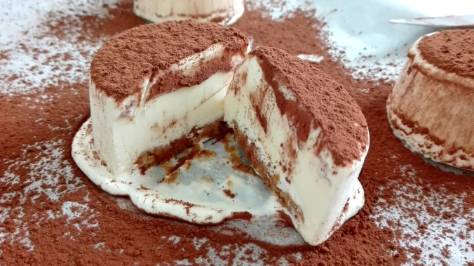 Tiramisu Ice Cream Inside