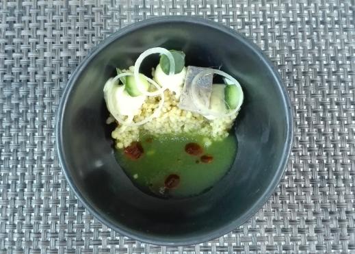 Appetizer at Hofstede de Blaak