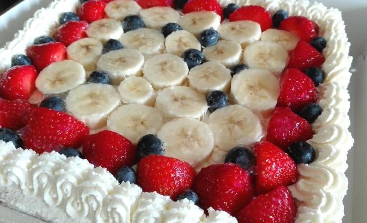 Fruity Birthday Cake