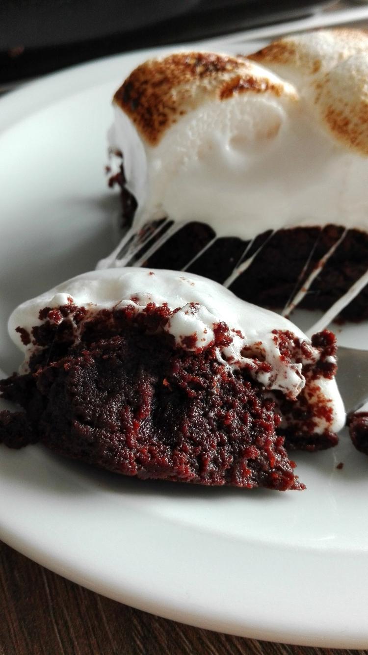 marshmallow-brownies