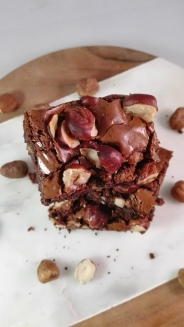 hazelnut-brownie