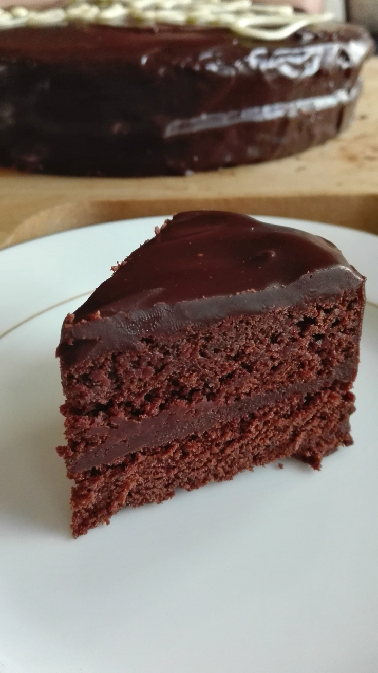 Rich Chocolate Mickey Cake