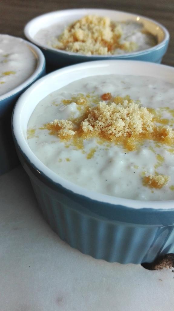 Vanilla Rice pudding Vanille Rijstpap