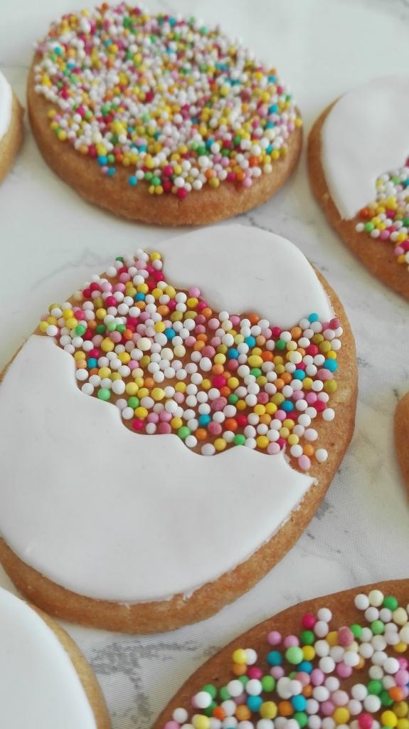 Easter Sprinkle Cookie