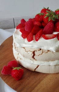 Summer Berry Layered Pavlova recipe