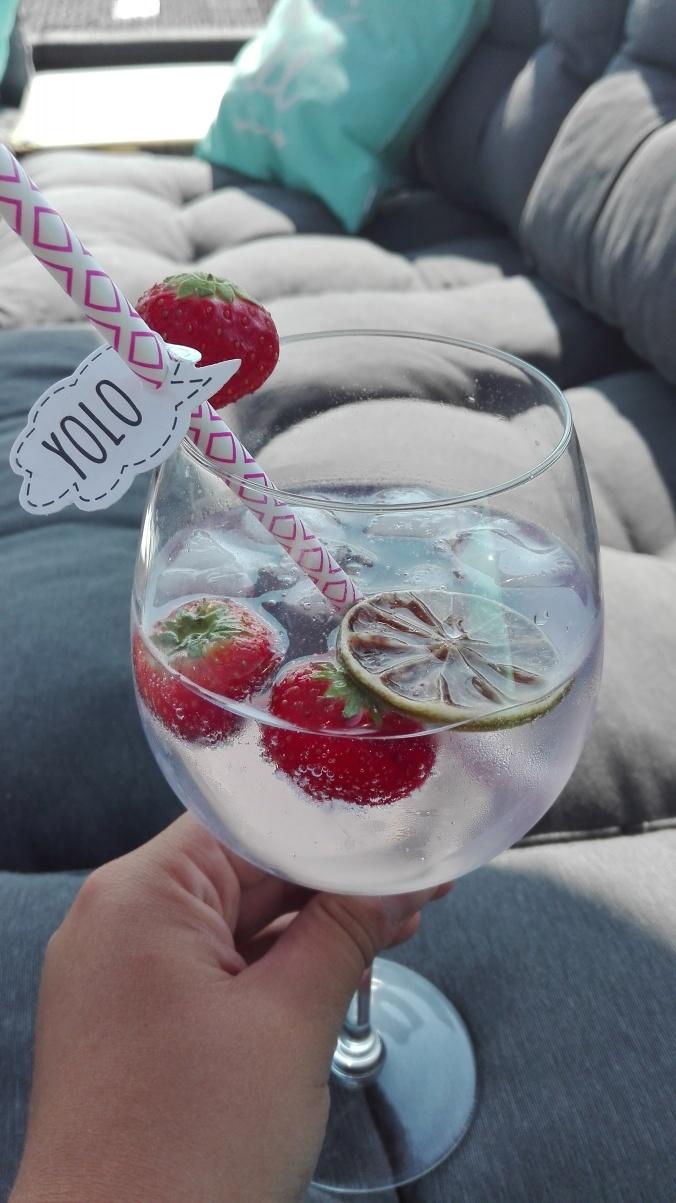 Strawberry Gin Tonic