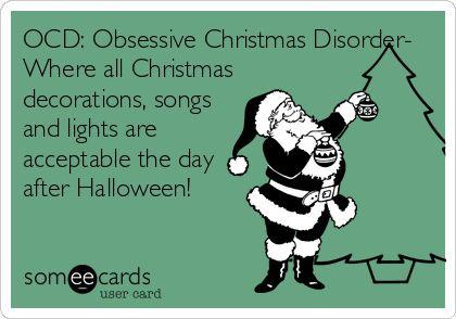 OCD Xmas