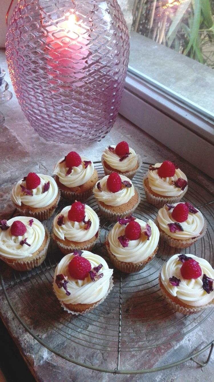 Whittard English Rose Tea and Raspberry Cupcakes Recipe