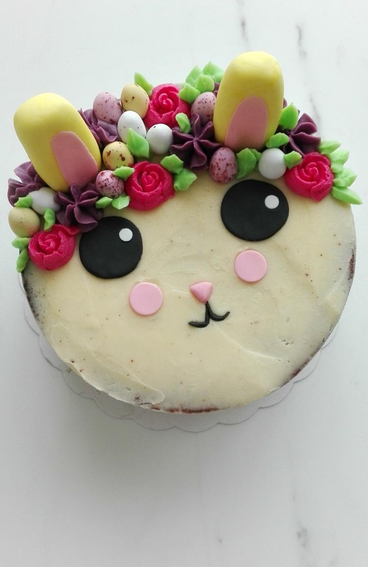 Easter Bunny Vanilla Cake